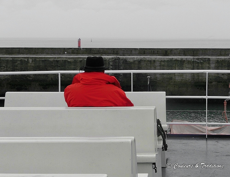 L'homme qui prend la mer ....