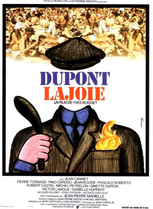 DUPONT LAJOIE AFFICHE 1975