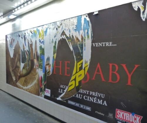 affiche palimpseste Baby diable 10248