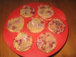 Muffins aux Framboises à ma Façon