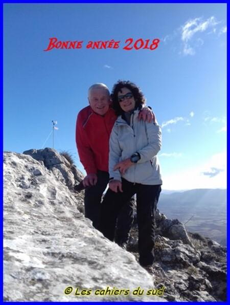 La 1ère de l'année 2018, le Pic des Mouches