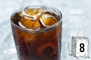 Des sucres dans les sodas