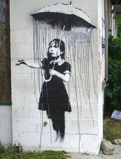 Il pleut sur les murs