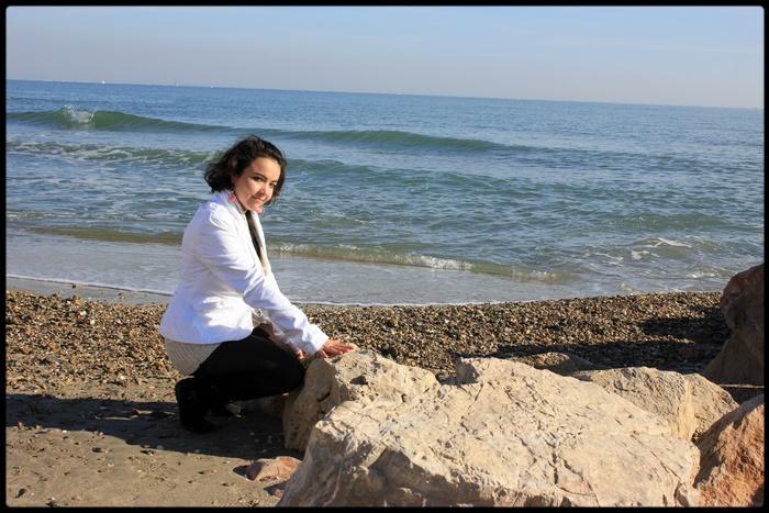 Lundi 19 Novembre 2012 : Promenade à la plage en Amoureux <3