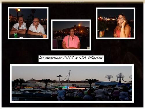 Vacances 2013 A ST CYPRIEN suite des photos