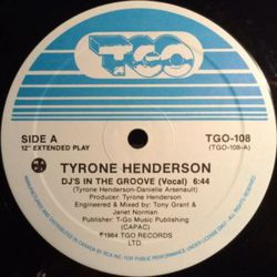 Tyrone Henderson - DJ's In The Groove