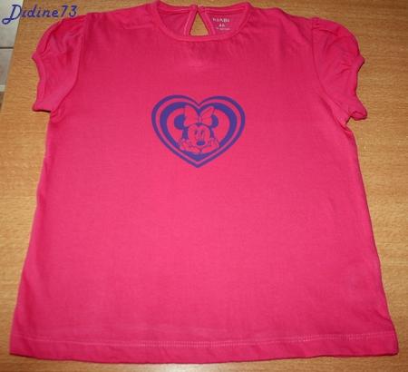 Mon 1er tee-shirt avec déco flex - tee-shirt -1