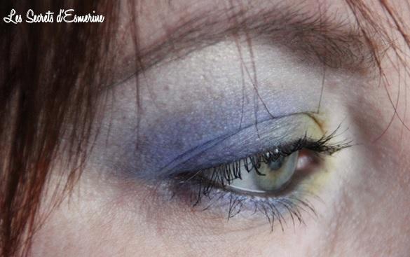 les secrets d'esmerine, makeup bleu vert, tempête