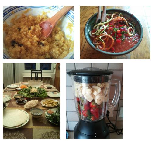 Idées de repas sains hyper simples de Pauline