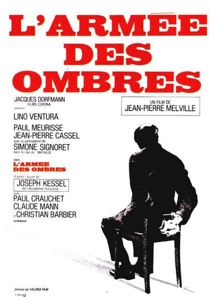 L'armée des ombres, Jean-Pierre Melville, 1969