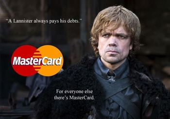 game of thrones mastercard