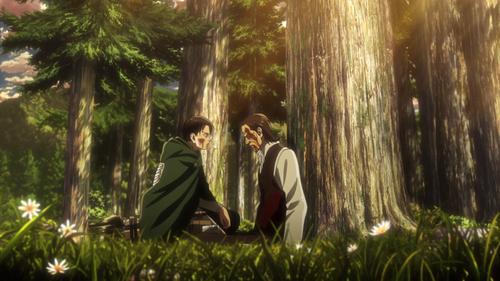 Shingeki no Kyojin Saison 3 10 ou Bande d'enfoirés