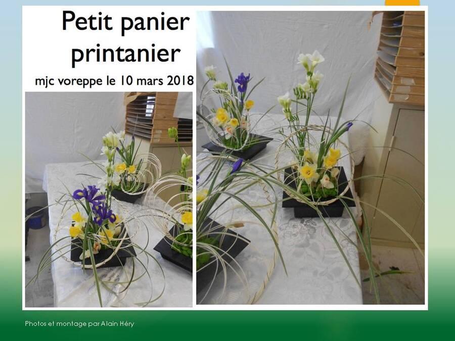Petit Panier Printanier