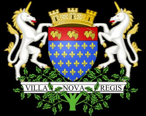 Blason Villeneuve le roi