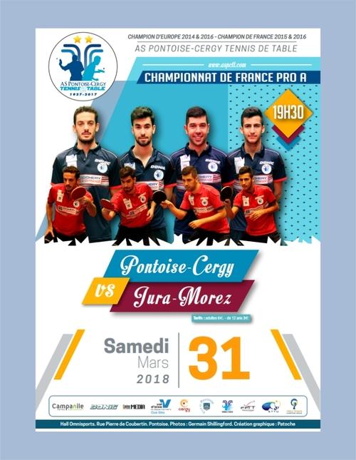 Venez voir et encourager l'équipe pro de Pontoise au Championnat de France