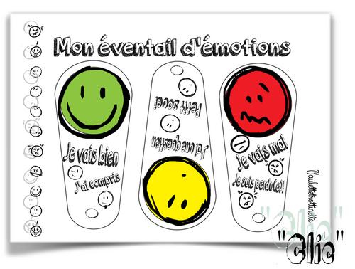 Mon éventail des émotions