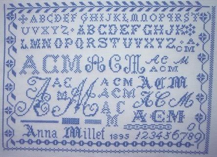 Reflets de soie, Anna Millet 1895 (Karine)