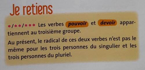 F / Les verbes modaux