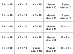 calculs additifs et soustractifs (période 1 ERMEL)