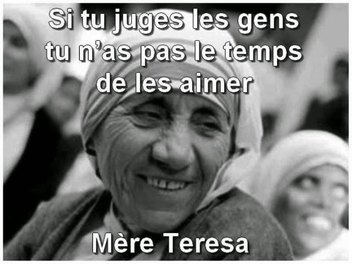 « Ne jugez pas » Alice