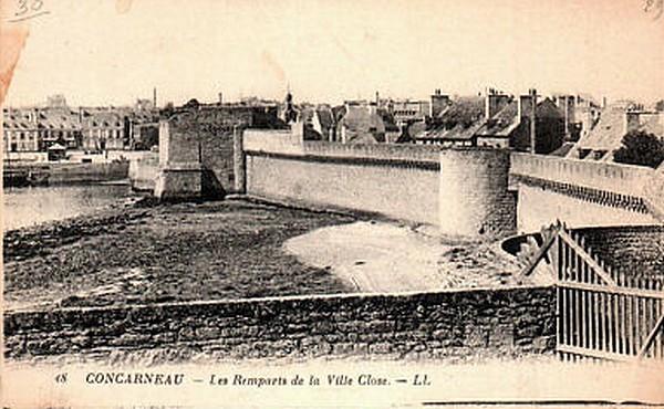 La ville close de Concarneau (Finistère)