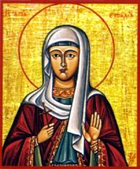 Sainte Euthalie. Originaire de Syracuse en Sicile (4ème s.)