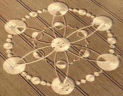 les crop circles