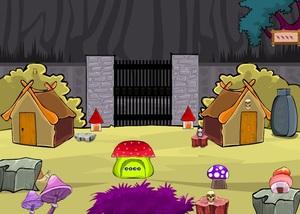 Jouer à Skull village escape soluce