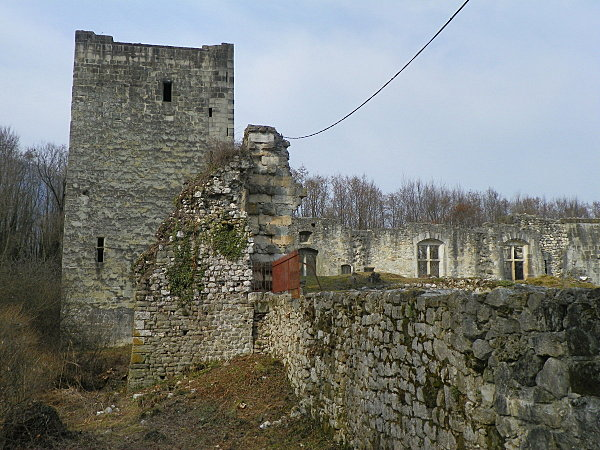 Le Bourget du Lac ( Château Thomas II )