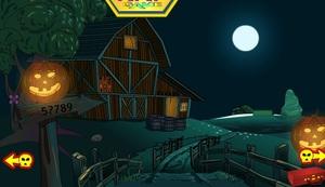 Jouer à KNF Diamond Hunt 4 - Halloween house escape