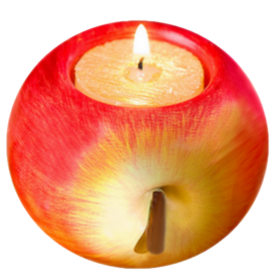 Tube bougie pomme