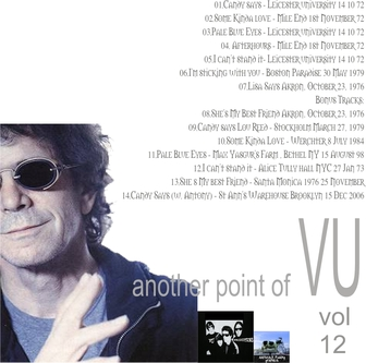 Cover me # 91: Another Point of VU Vol 12: Lou Reed (Partie 3)