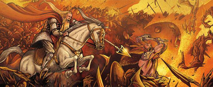 Ragnarok : mythologie nordique