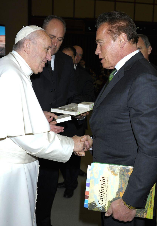 pape rencontre