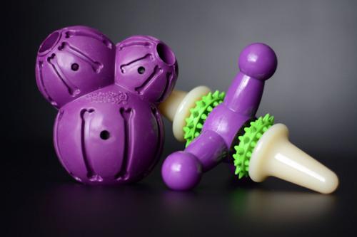 Les jouets ludiques et gourmands de Petsafe - Test Howard le chichi - BLOG