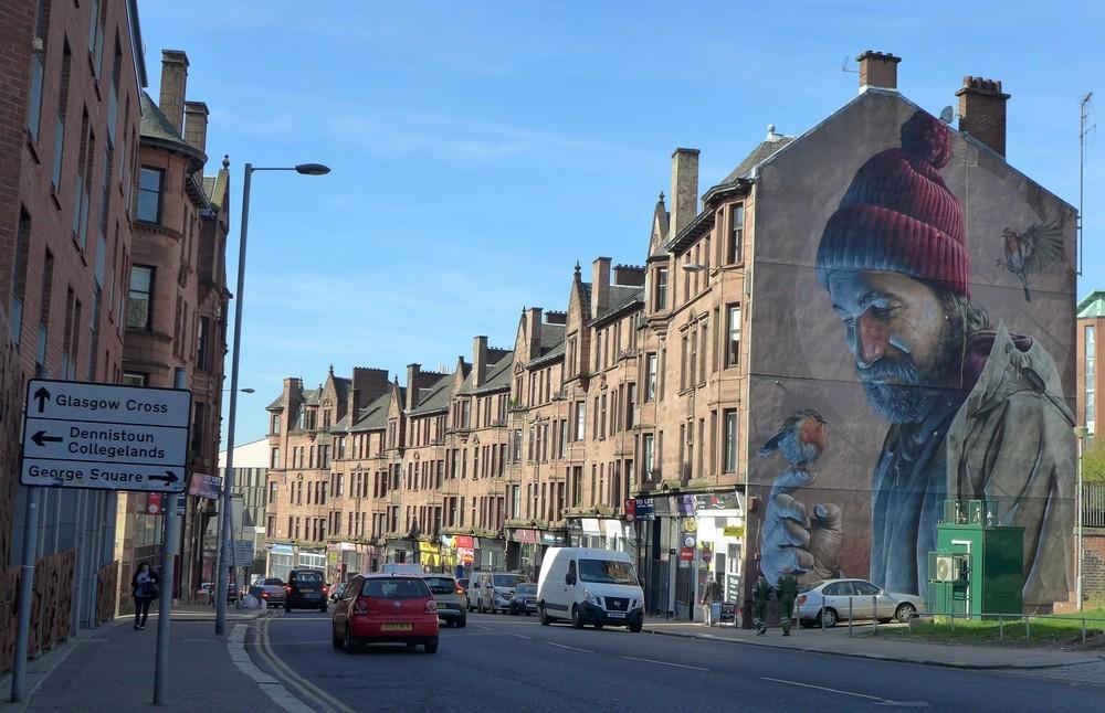 Glasgow : de belles fresques...