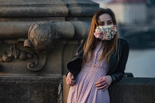 Masque fleurs