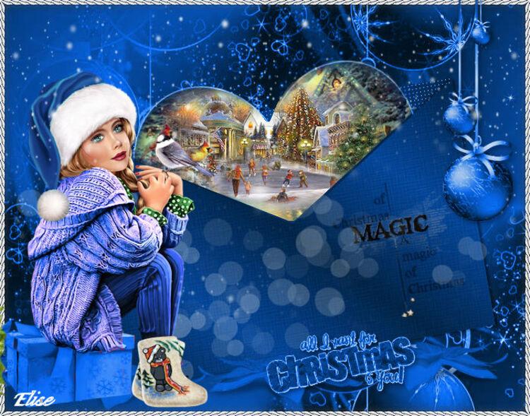 Christmas     de libellule