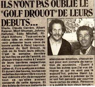 14 juin 2014 : Adieu Henri Leproux !