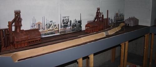 Ennange, la sidérurgie Lorraine à l'échelle N