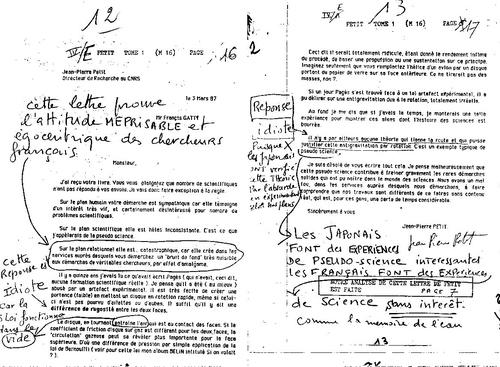 Microscope N°33 lettre Hauwking