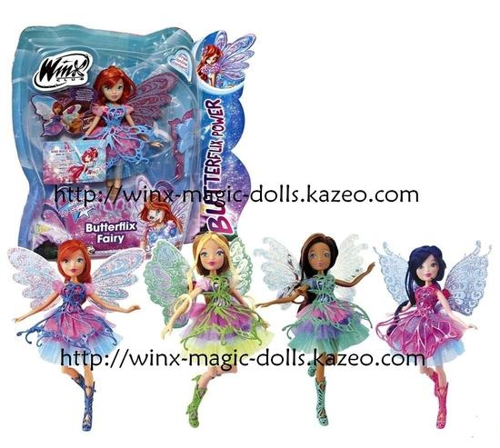 poupées Butterflix avec musa