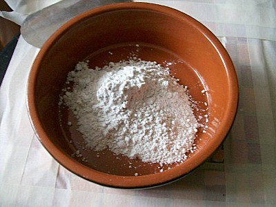 le ciment pour les joints