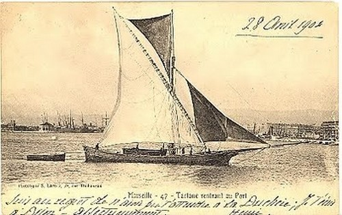 Tartane Marseille 1904