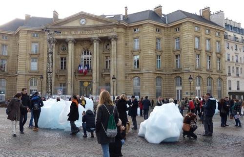icewatch Eliasson panthéon