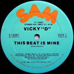 """Vicky """"D"""" - This Beat Is Mine"""