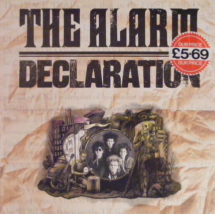 Mémoire de vinyl: The Alarm - Declaration (1984)