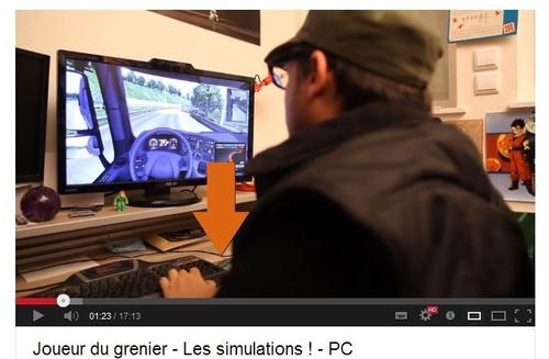 Tapis de souris GLD dans une vidéo du JDG