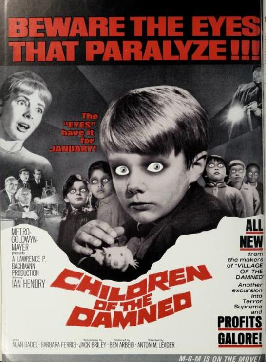 CHILDREN OF THE DAMNED BOX OFFICE USA 1964