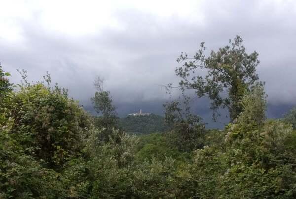 Promenade par une journée de pluie